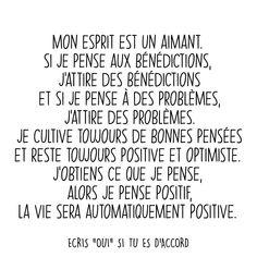 Positive Mind, Positive Attitude, Mots Forts, Affirmations, Plus Belle Citation, Strong Words, Choose Joy, Motivation, Mindfulness