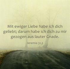 Gottes #Liebe #Jeremia 31,3