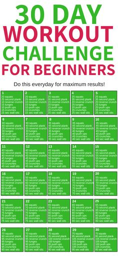 This 30 day workout challenge for beginners is THE BEST! I\'m so glad I found this awesome workout challenge to help me loss weight this year! Definitely pinning this for later! #fitness #workout #fitnesschallenge #workoutchallenge
