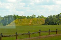 Kolomoki Mounds State Park, Blakely, Early County, GA.