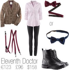 I swear someone at H is a Whovian! So I made a fem!Doctor cosplay just with clothes you can buy at H I think most people have one in their area and for a complete outfit it's not that expensive (considering the official replica of his jacket is $329,99!)