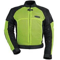 #Motorcycle Riding Gear, Hi Vis mesh #Tourmaster INTAKE AIR 3 jacket
