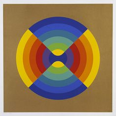 Chromatic Intersection by Herbert Bayer, 1970.
