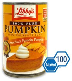 The Dietitian's Top Pick: Libby's® 100% Pure Pumpkin Festival Foods blog #festfoods