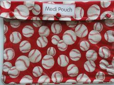 Items similar to Baseball Pouch Sports Medical Clear Front Organizer for Kids/Adults First Aid Sports Team Mom Personalize Coach Teacher Gift on Etsy Baseball Fabric, Reds Baseball, Baseball Party, Running Pouch, Angels Baseball, Team Mom, Coach Gifts, First Aid, Sports Teams