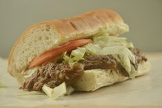 Instant Pot Roast Beef Po Boy - Authentic Cajun Recipe Instant Pot Roast Beef Po-Boys are a great way to recreate a Louisiana classic in a fraction of the time. Try it today! Best Roast Beef, Pork Roast Recipes, Cajun Recipes, Cajun Food, Creole Recipes, Pressure Cooker Roast, Instant Pot Pressure Cooker, Pressure Cooking, Instapot Roast Beef