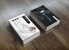 My first business card design