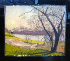Early Spring on the Platt by Jane Scott at Lewis Art Gallery