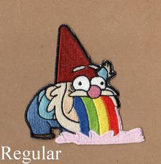 Gnome Patch Gravity Falls