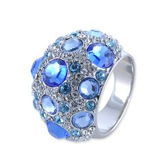 Oracle Crystal Ring  #crystal  http://www.playbling.com/en/crystal-jewelry/oracle-crystal-ring-163.html