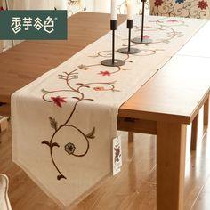 Resultado de imagen para caminos de mesa bordados a mano