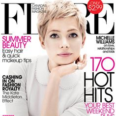 Michelle Williams Twiggy style perfection