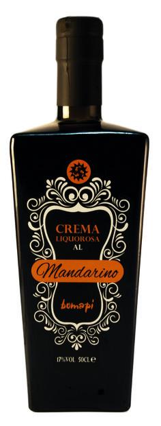 Crema liquorosa al mandarino.