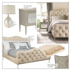 """""""Bedroom Decor"""" by kathykuohome ❤ liked on Polyvore featuring interior, interiors, interior design, home, home decor, interior decorating, bedroom and homedecor"""