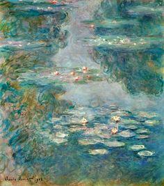 Titre de l'image : Claude Monet - Waterlilies