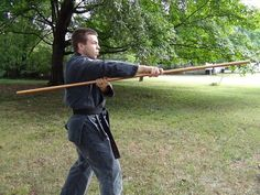 Make your own  Bo Staff by quarter round molding