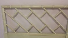 Henry Link Faux Bamboo KING Size Headboard Chinese Chippendale by DEGFURNITUREDESIGNS on Etsy