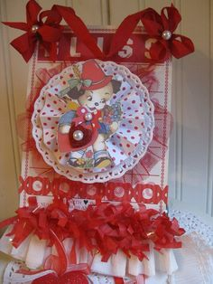 Celebrations: Valentines Cards, Tags, Layouts, Albums & Party Favors ❤ valentine altered bingo card