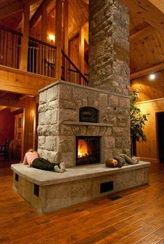 Soapstone Heater — Maine Wood Heat Co. Soapstone Heater — Maine Wood Heat Co. Home Fireplace, Fireplace Design, Fireplaces, Fireplace Stone, Fireplace Ideas, Fireplace Outdoor, Fireplace Heater, Style At Home, Log Cabin Homes