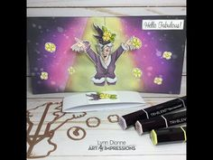 Art Impressions Glamour Pop-up Card – Pink Whisper Designs