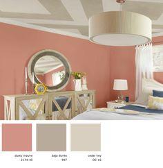 Benjamin Moore - color scheme for nursery