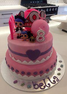 62 ideas of best birthday cake Doll 2019 Doll Birthday Cake, Funny Birthday Cakes, 6th Birthday Parties, 8th Birthday, Birthday Ideas, Surprise Cake, Surprise Birthday, Lol Doll Cake, Doll Party