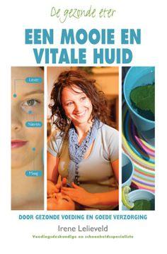 """In """"Een mooie en vitale huid"""" laat Irene Lelieveld zien hoeveel invloed je dagelijkse voeding heeft op de conditie van de huid. Irene behandelt in haar boek de meest voorkomende huidproblemen en hoe je deze kunt behandelen door middel van voeding en supplementen. Eczeem, rimpels, acne, psoriasis, rosacea, allergische huid, gestreste huid, cellulitis, pigmentvlekken en andere huidaandoeningen worden aangepakt..."""