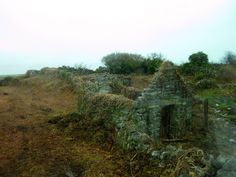 Famine-era cottage in Connemara, Ireland