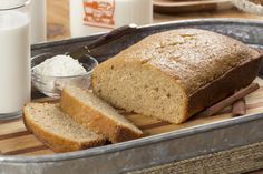 We put a shortcut twist on the time-honored recipe for Amish Friendship Bread. Instead of passing around a starter, our Amish Friendship Bread recipe makes enough for two loaves, so you can just call your friends and invite them over to enjoy the fin