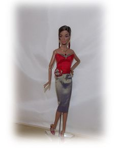 Handmade Clothes for Silkstone Barbie.6 by MySweetDollBoutique