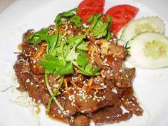 Heavenly Beef - Mae Phim Thai Lakewood, WA