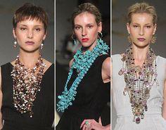 Maxi acessórios marcam o verão da Francesca Romana Diana | Fashion Rio