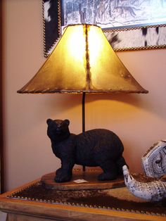 Walking Bear Lamp, 719.657.3111, www.coloradocowgirls.net Rustic Lamps, Table Lamp, Walking, Bear, Unique, Home Decor, Lamp Table, Decoration Home, Room Decor