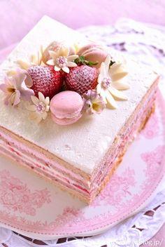 Beautiful Desserts, Cute Desserts, Delicious Desserts, Yummy Food, Dessert Drinks, Dessert Recipes, Cute Baking, Easy Baking Recipes, Cafe Food