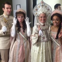 Backstage at the first preview of Anastasia at Hartford Stage!