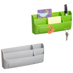 Our Smartbox is pure genius. It stores pens, sticky notes, keys, mail, tape, paper clips or binder clips - it's especially handy when placed near a phone, fax machine or copier.