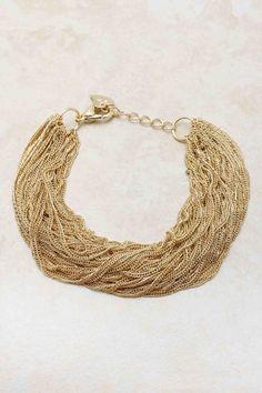 Golden Mia Bracelet | Emma Stine Jewelry Bracelets