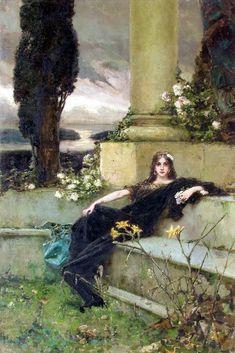 Afternoon Silence, 1900  Wilhelm Kotarbinski