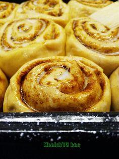 Cinnamon rolls (roulés à la cannelle) - IG bas & sans lactose   Health'IG bas - recettes de cuisine saines et gourmandes à IG bas