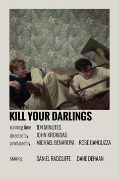 Movies To Watch Teenagers, Movie To Watch List, Good Movies To Watch, Iconic Movie Posters, Iconic Movies, Film Posters, Movie Songs, Movie Quotes, Kill Your Darlings