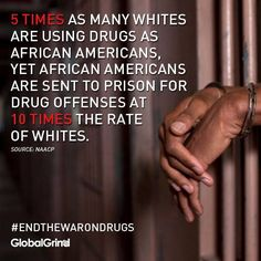 More white people are doing more crimes, yet there are ten times more black inmates than whites. Racial profiling or coincidence?