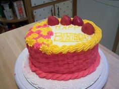 This cake was made by Pamela Gonzalez, if you need a specialty cake call me at 609-226-3423, thanks. :).