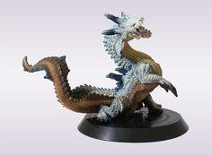 Capcom Monster Hunter Figure Builder Standard Model Vol 4 White Lagiacrus