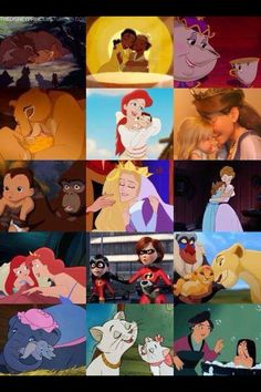 The mothers of Disney
