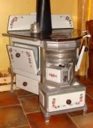 antique kitchen cooker old stove from belgium typically. Black Bedroom Furniture Sets. Home Design Ideas