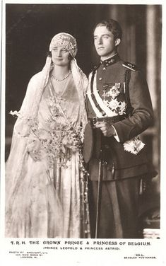 I can see a similar photo in the family album of my fictional royals. Great-grandparents of C.J., Alex & Karl  Queen Astrid and King Leopold III of Belgium