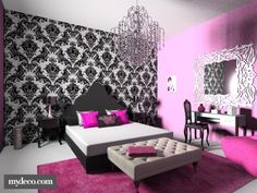 Hollywood Glamour Decorating Ideas | Hollywood Glamour. Bedroom. Glamour