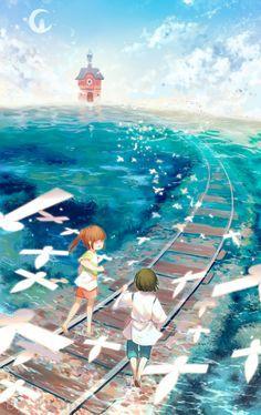 Sen to Chihiro no Kamikakushi (Spirited Away) Image - Zerochan Anime Image Board Totoro, Art Studio Ghibli, Studio Ghibli Movies, Otaku Anime, Manga Anime, Anime Art, Wallpaper Animes, Animes Wallpapers, Hayao Miyazaki