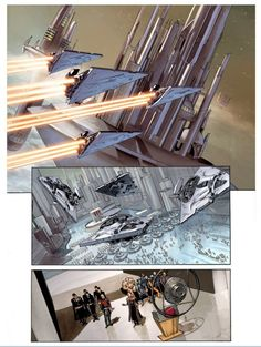 interior art from 'The Star Wars'