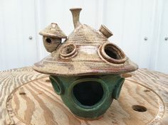 Hey, I found this really awesome Etsy listing at http://www.etsy.com/listing/162130162/fairy-house-pottery-whimsical-garden
